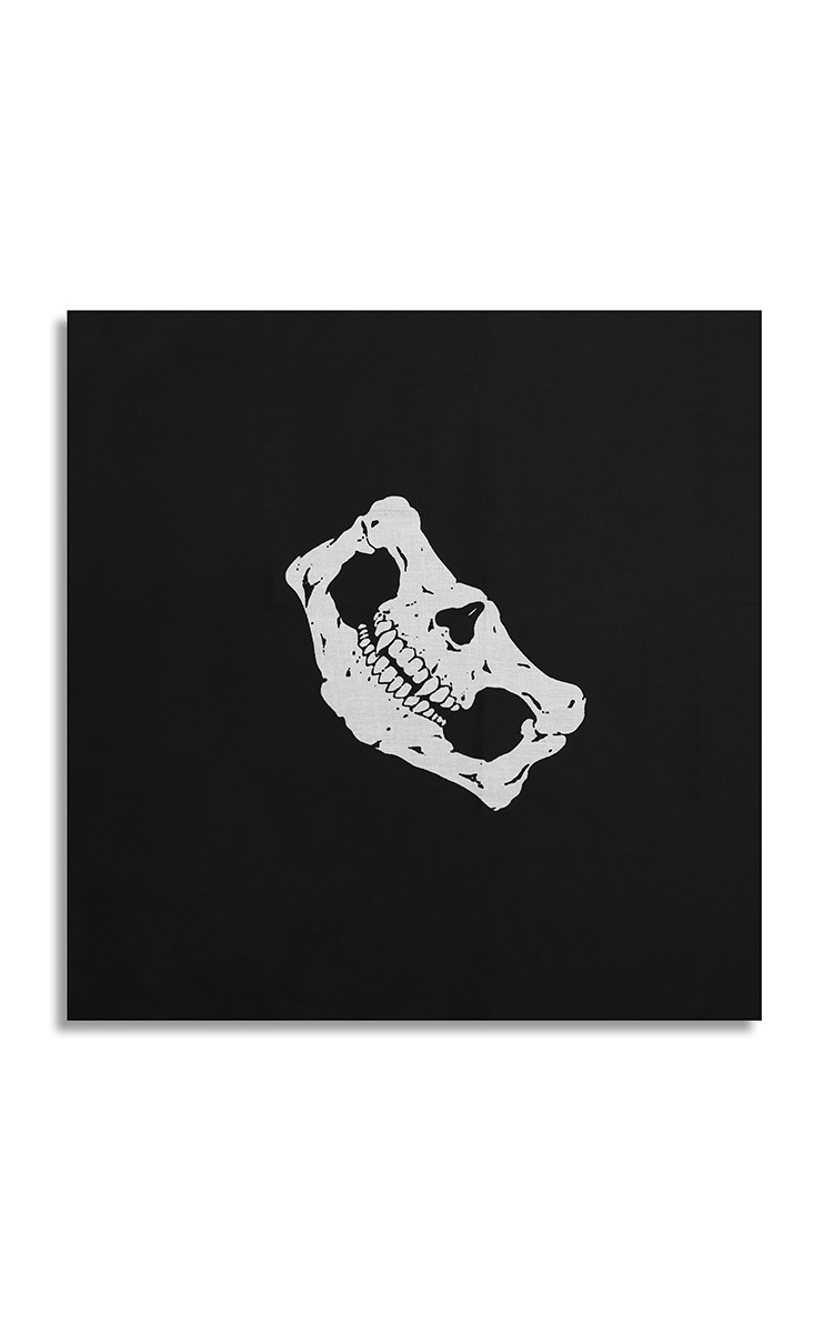 Skull Bandana In Black