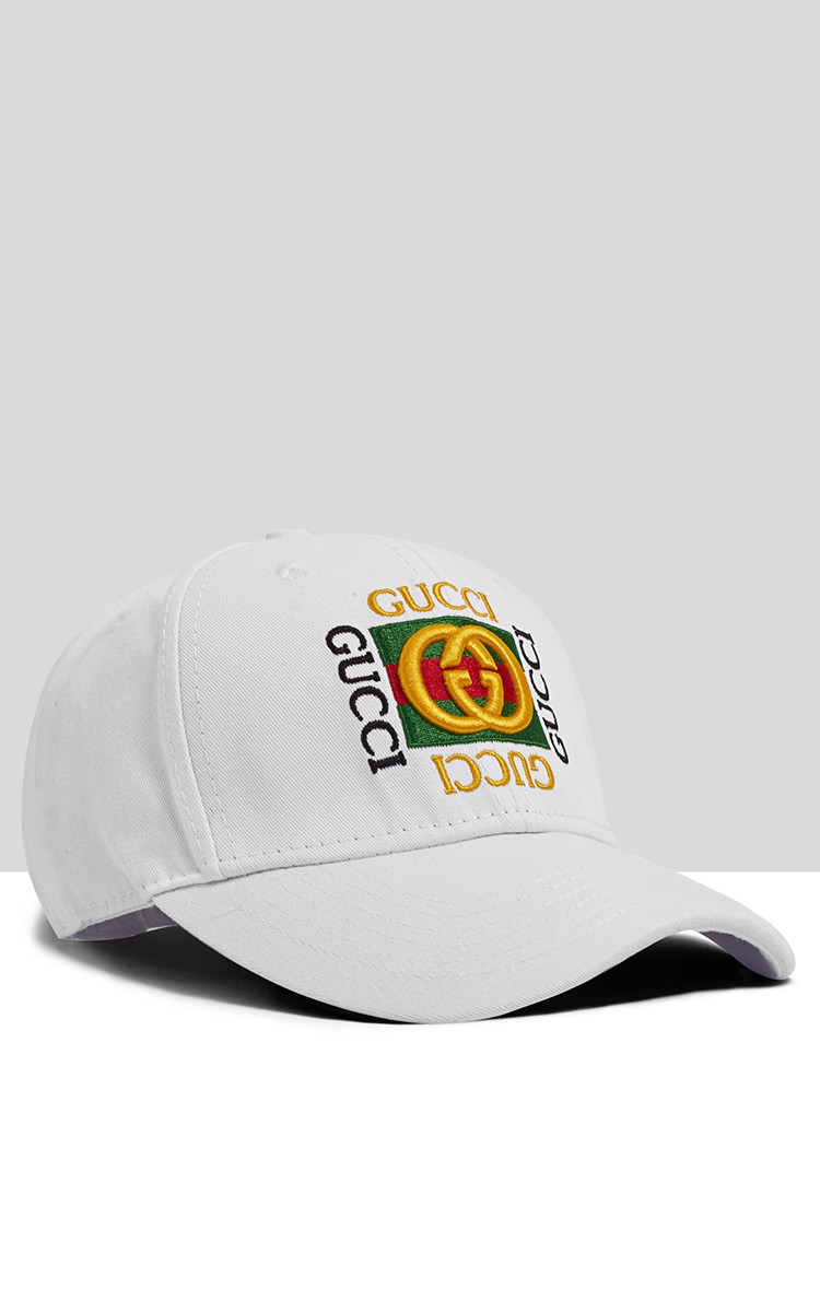 Gucci Cap In White