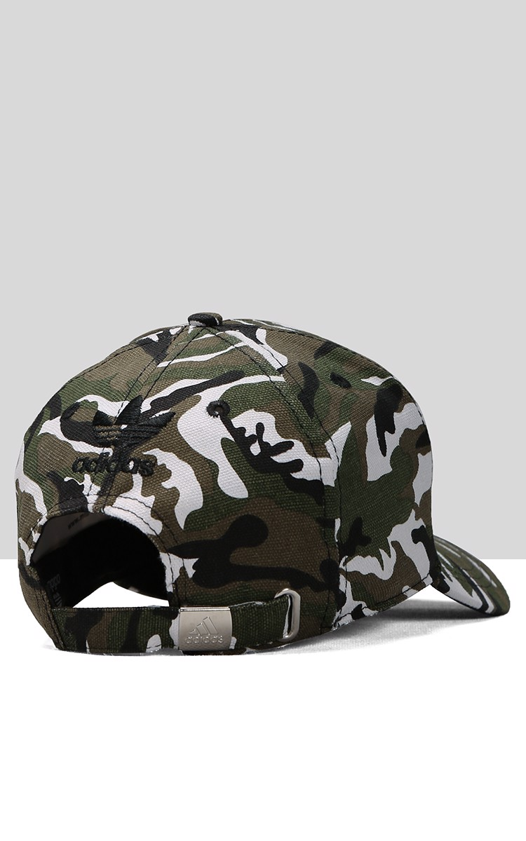 Adidas Cap In White Camo