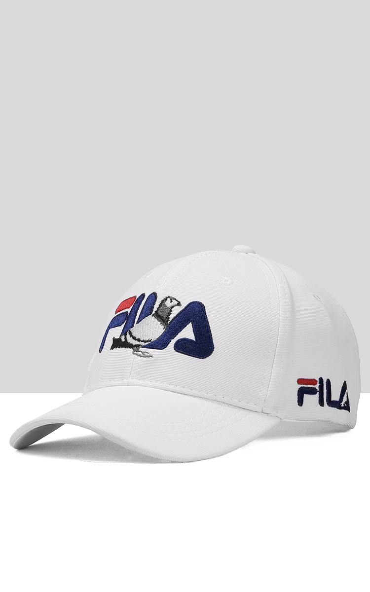 Fila Cap In White