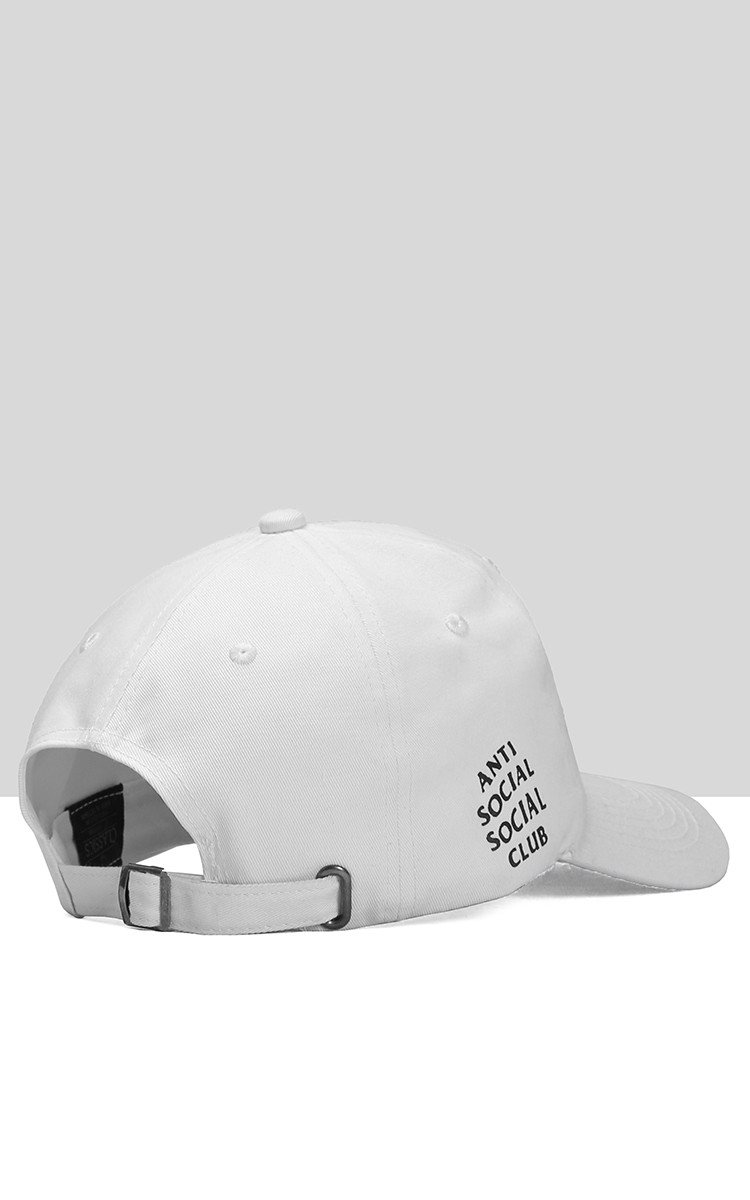 Anti Social Social Club Cap In White