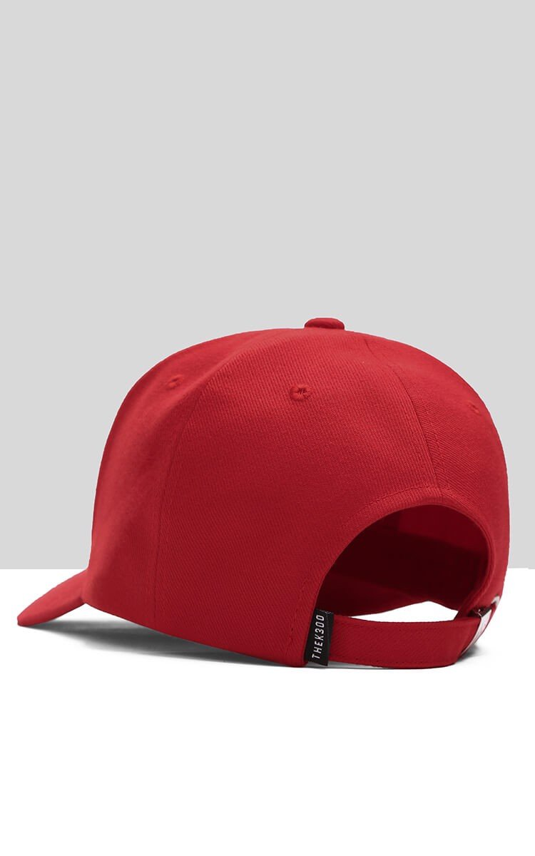 3Hundred Basic Cap In Red