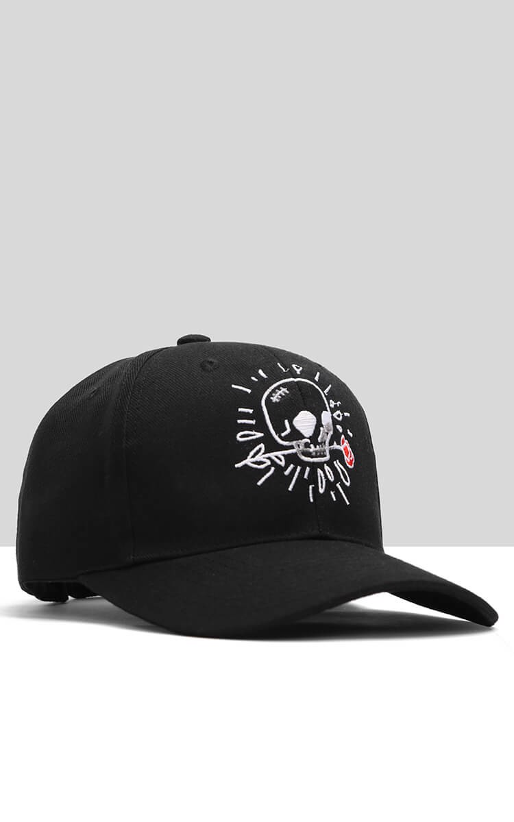 3Hundred Cap In Black