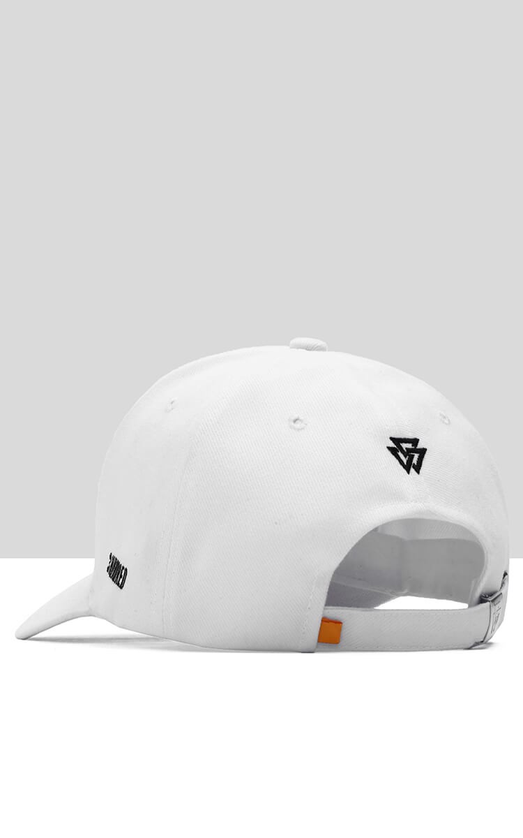 3H Destroy Eberything Cap In White