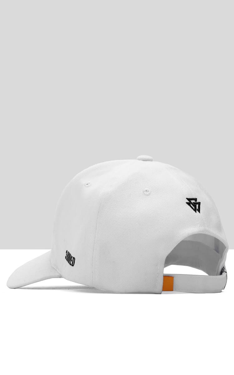 Salvation Three Hundred Cap In White