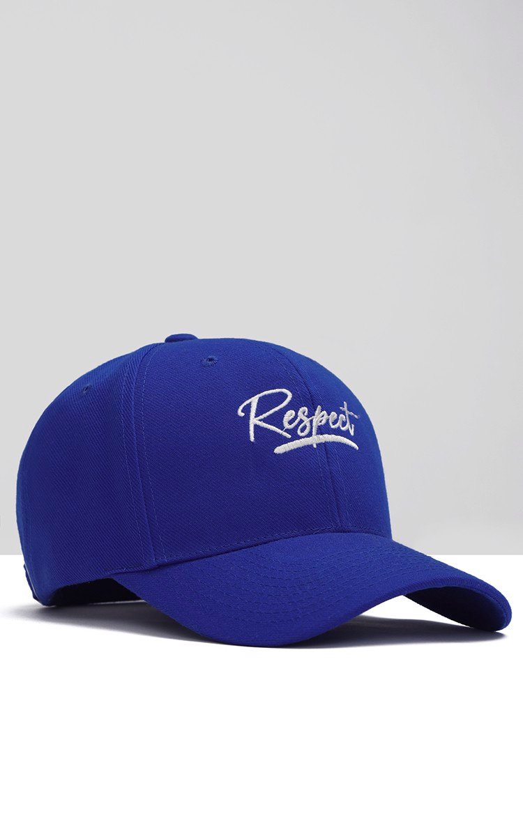 Respect Cap In Blue