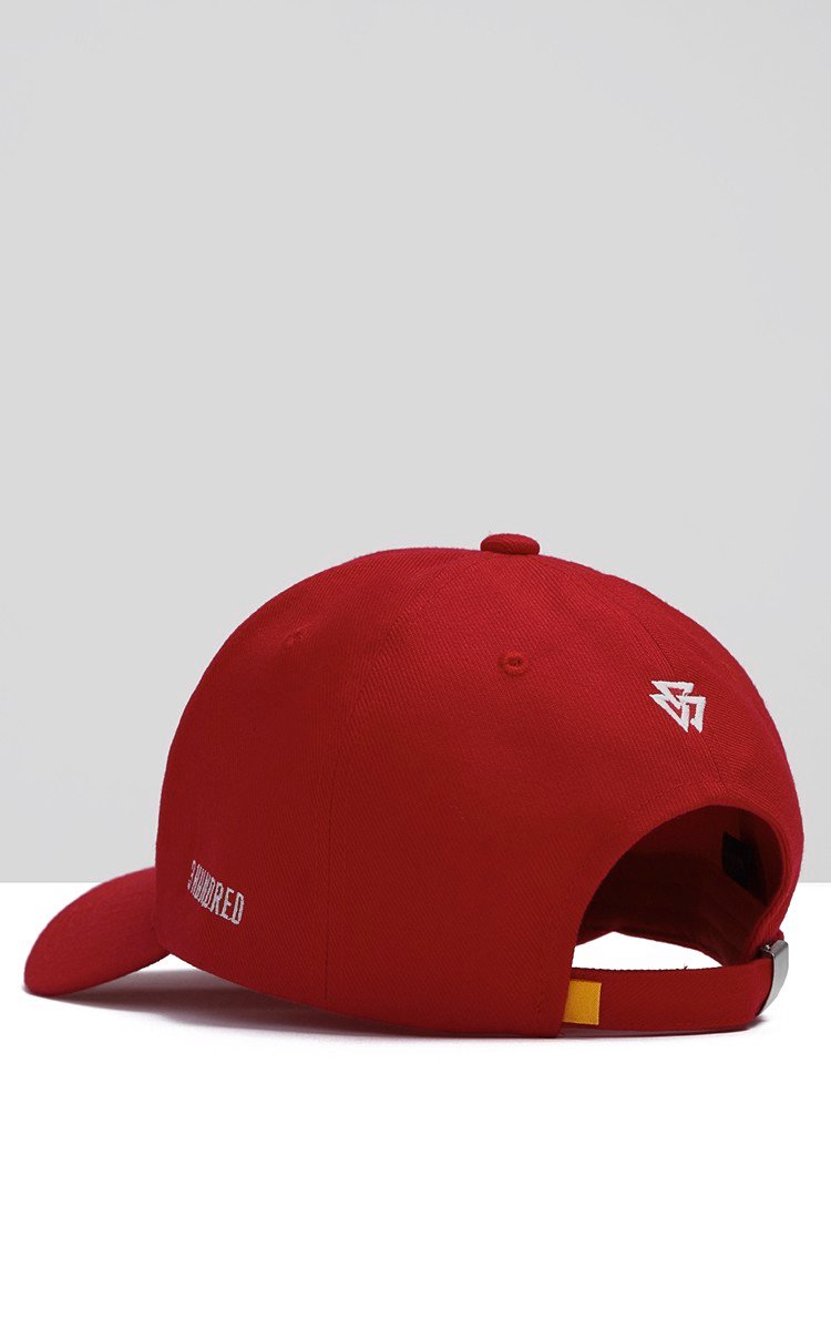 Disaster Cap In Red