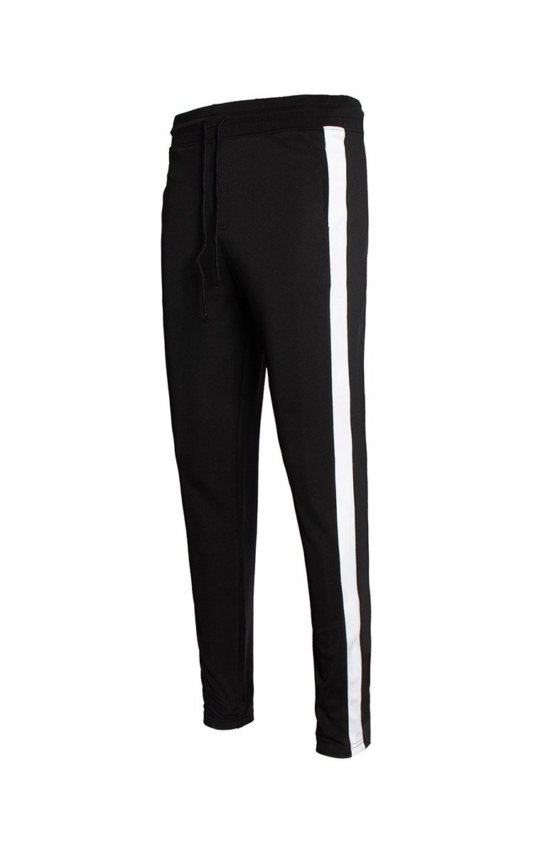 Side Stripe Sweatpants In Black