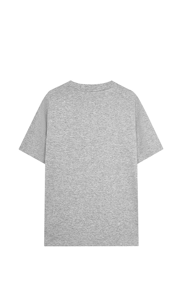 Basic T-Shirt In Grey