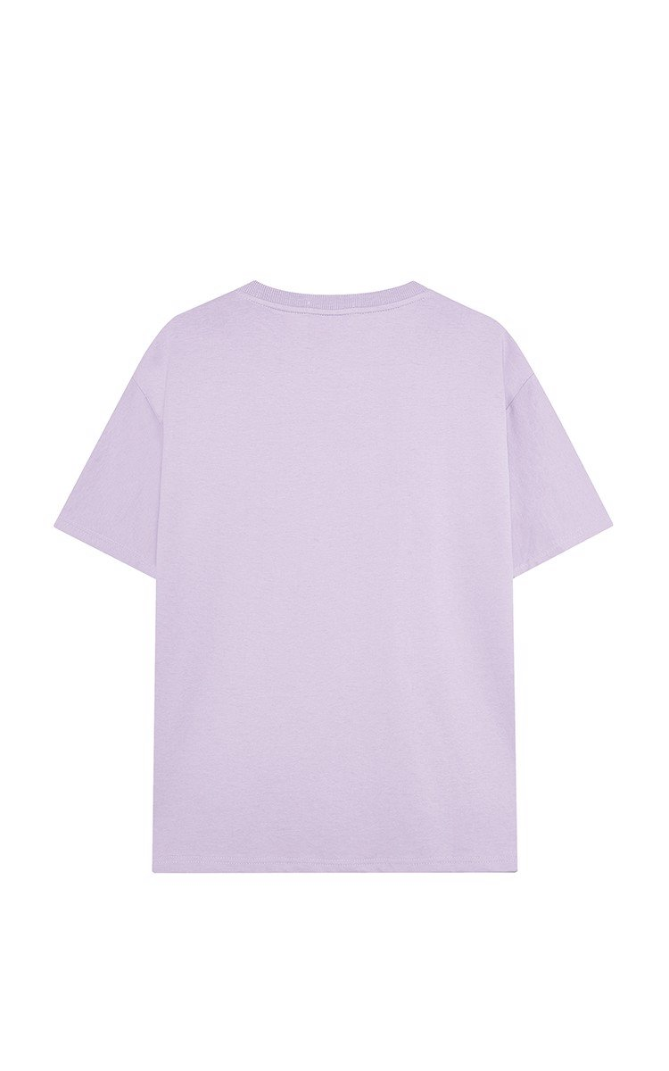 3Hundred Basic Tee In Purple