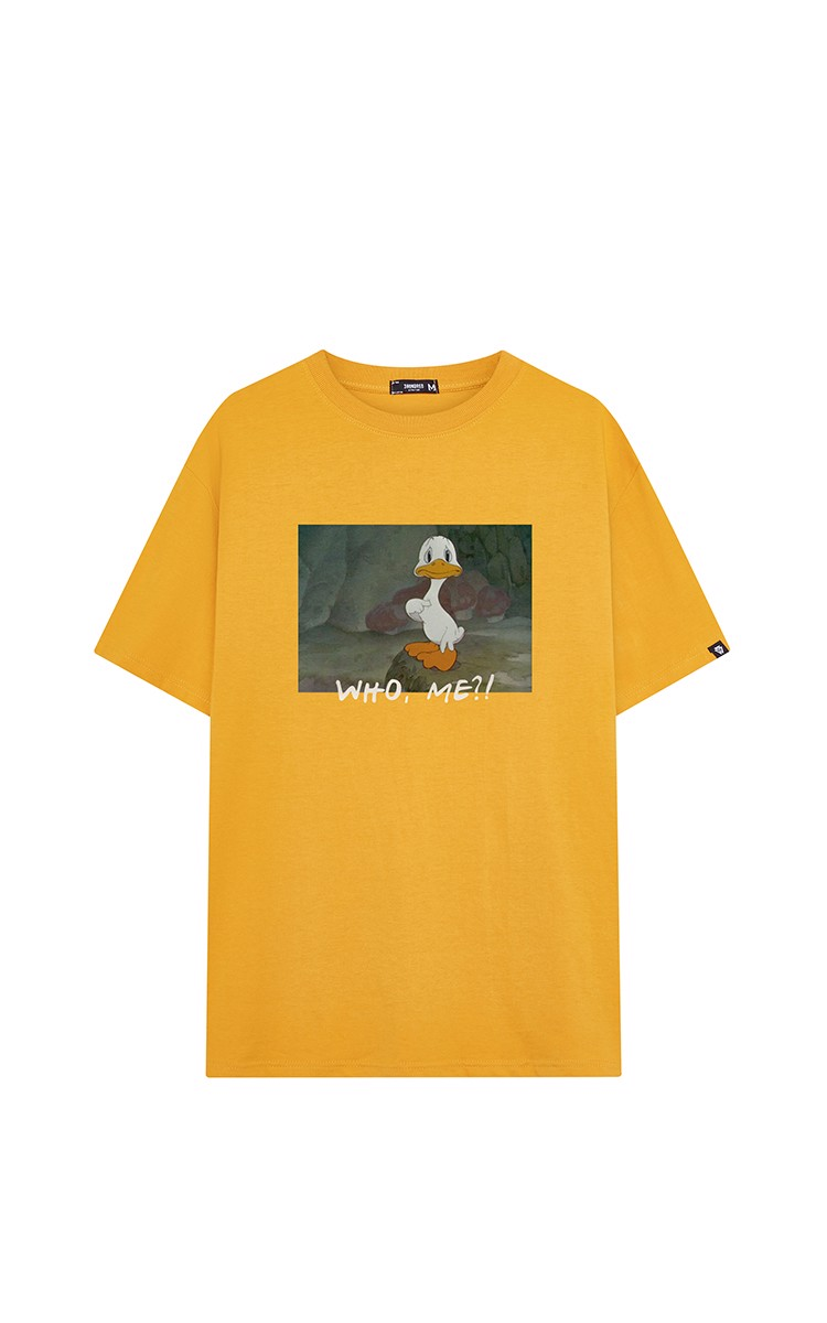 Who Me T-shirt In Yellow