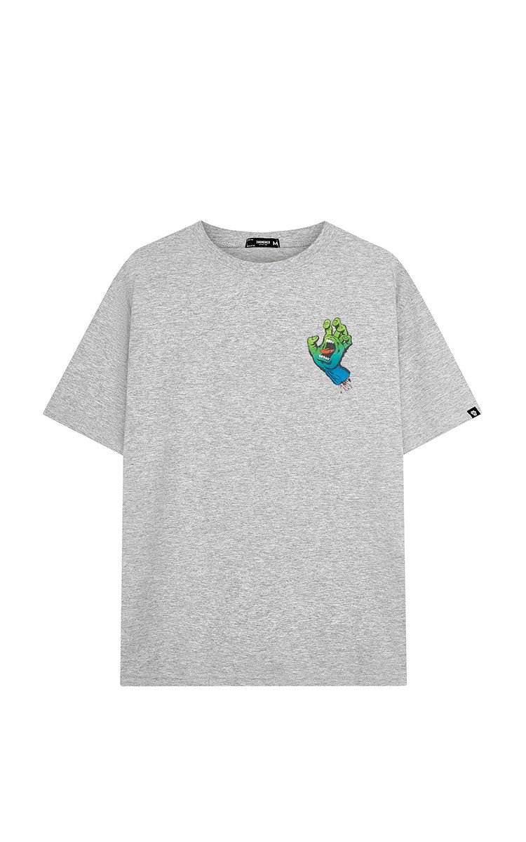Santa Cruz Big Logo Tee Grey