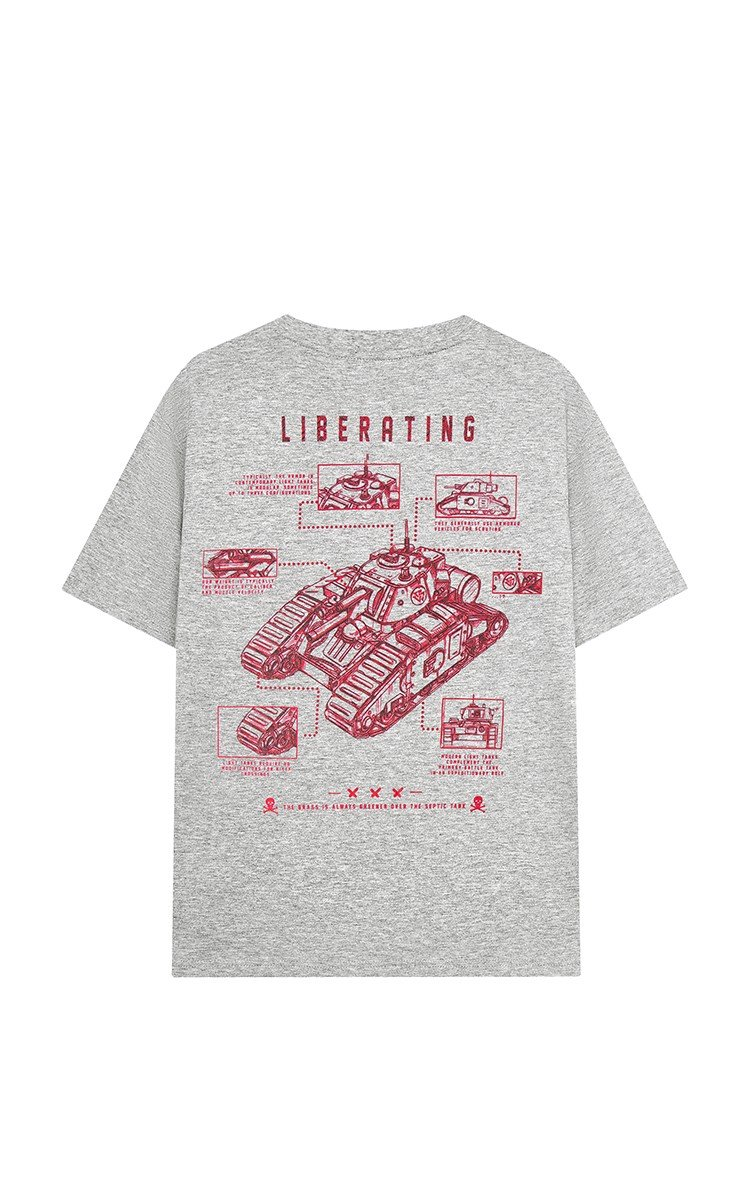 Liberation Army Tee Grey