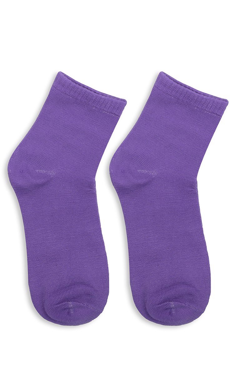 Shoes Sock In Purple