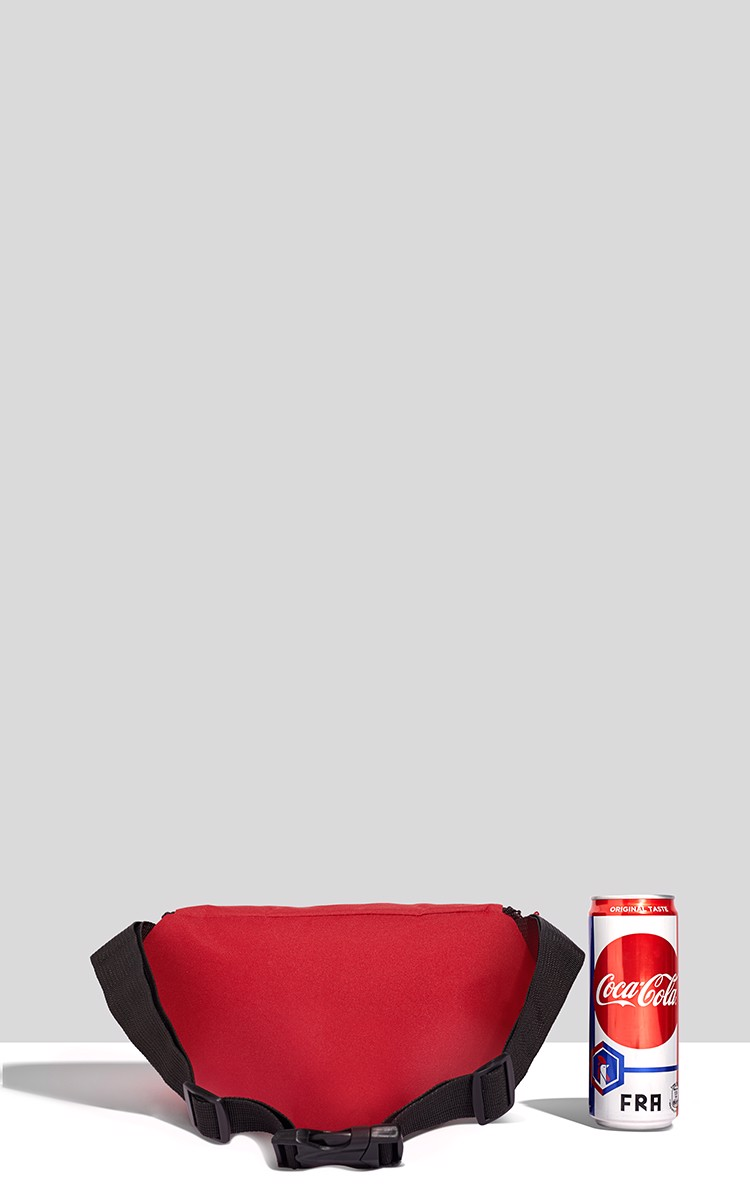 Lets Music Waist Bag In Red