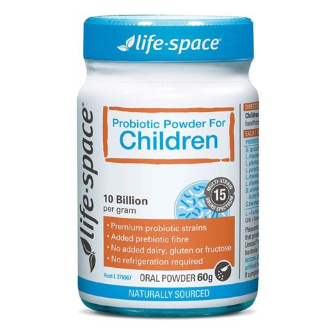 Men Vi Sinh Úc Life Space Probiotic For Children 60gr Reviwe 2018
