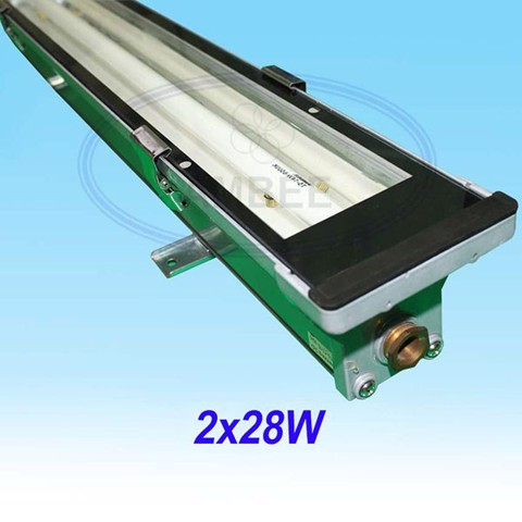 T5 Fluorescent Weather Proof Aluminum IP67 Fixture 1M2/2x28W