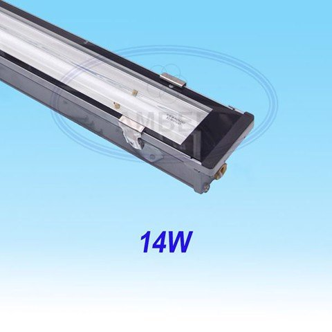 T5 Fluorescent Weather Proof Aluminum IP67 Fixture 0.6M/14W