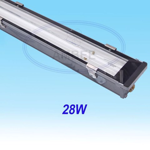 T5 Fluorescent Weather Proof Aluminum IP67 Fixture 1M2/28W