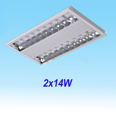 T5 Fluorescent Office Concealed 0.6M/2x14W