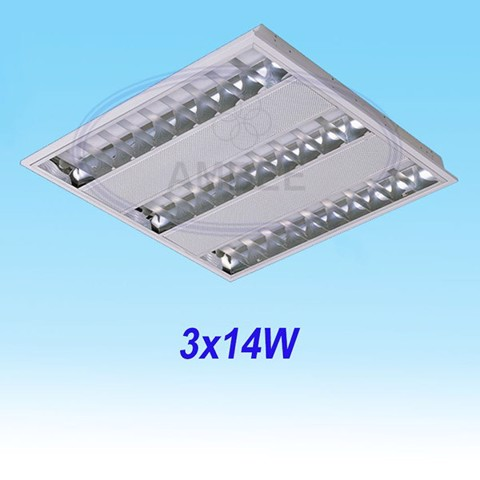 T5 Fluorescent Office Concealed 0.6M/3x14W