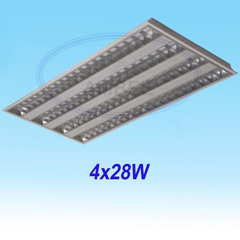 T5 Fluorescent Office Concealed 1M2/4x28W