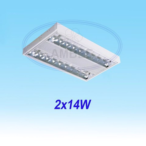 T5 Fluorescent Office Ceiling 0.6M/2x14W