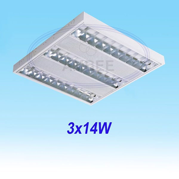 T5 Fluorescent Office Ceiling 0.6M/3x14W