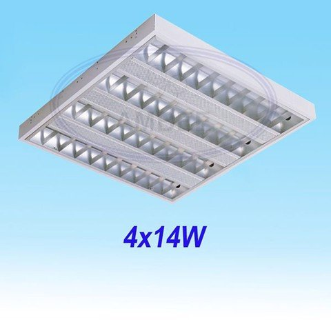 T5 Fluorescent Office Ceiling 0.6M/4x14W