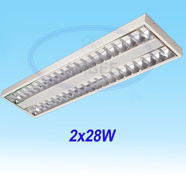 T5 Fluorescent Office Ceiling 1M2/2x28W