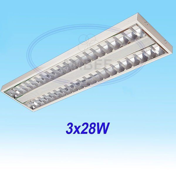 T5 Fluorescent Office Ceiling 1M2/3x28W