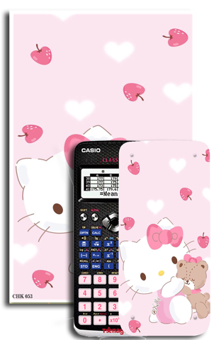 Decal máy tính Casio Hello Kitty 053