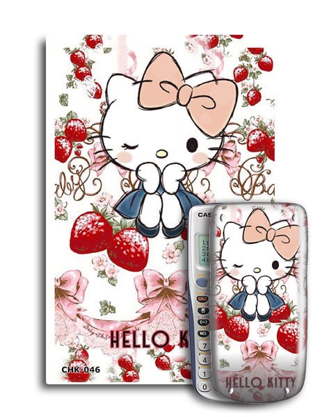 Decal máy tính Casio Hello Kitty 046