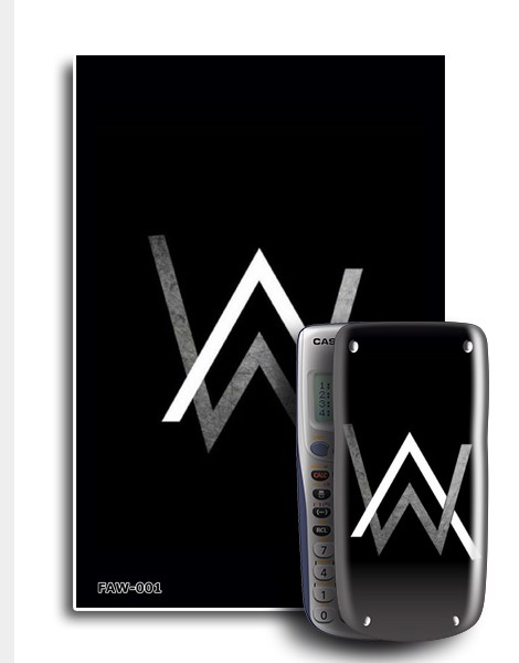 Decal máy tính Casio Alan Walker 001