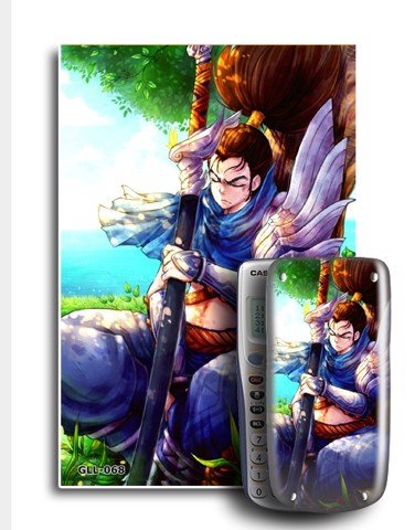 Decal máy tính Casio League Of Legend 068