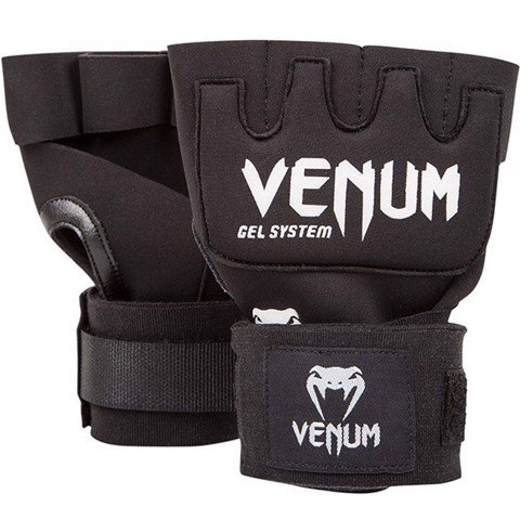 Venum Kontact Gel Gloves Wraps - Black