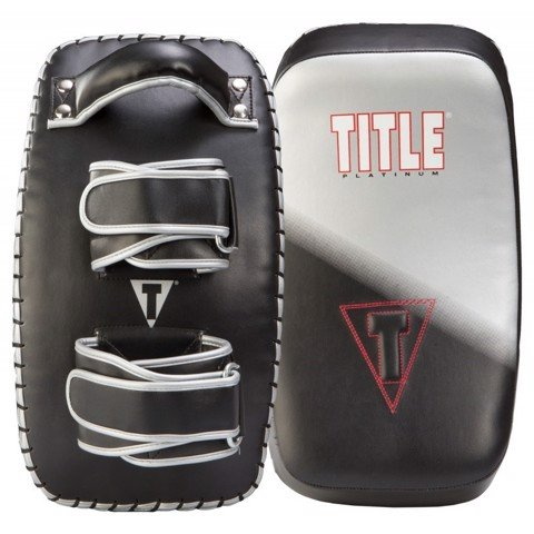 Đích đấm đá Title Platinum Proclaim Power Curved Thai Kick Pad - Pair