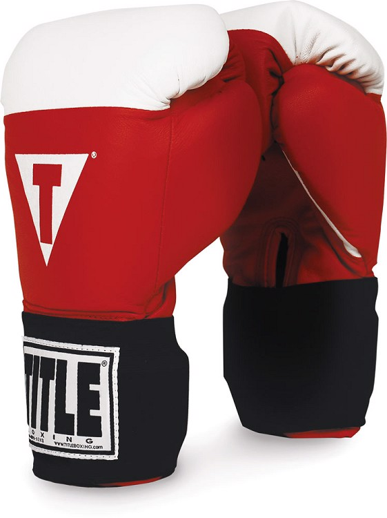 Găng tay thi đấu boxing TITLE Hook Loop Amateur Competition Gloves