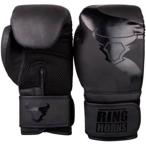 Găng tay Ringhorns Charger Boxing Gloves - Black/Black