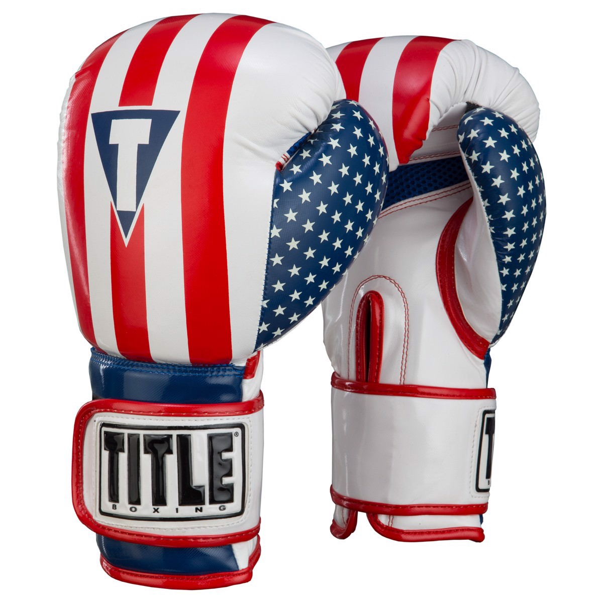 Găng tay boxing TITLE Infused Foam Combat USA Training Gloves