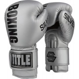 Găng tay boxing Title Silver Series Training Gloves