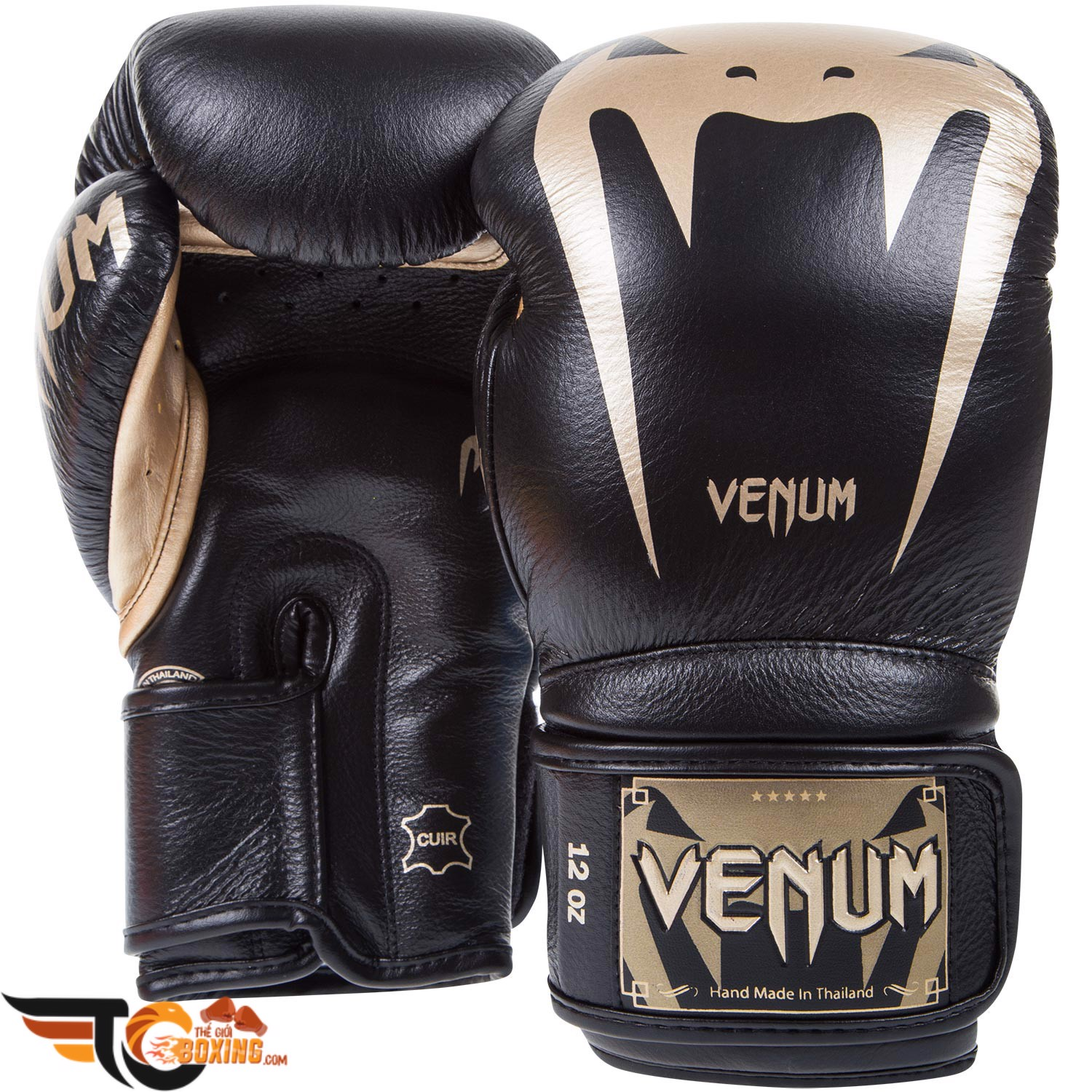 Găng tay boxing VENUM GIANT 3.0 Leather Sparring Boxing Gloves