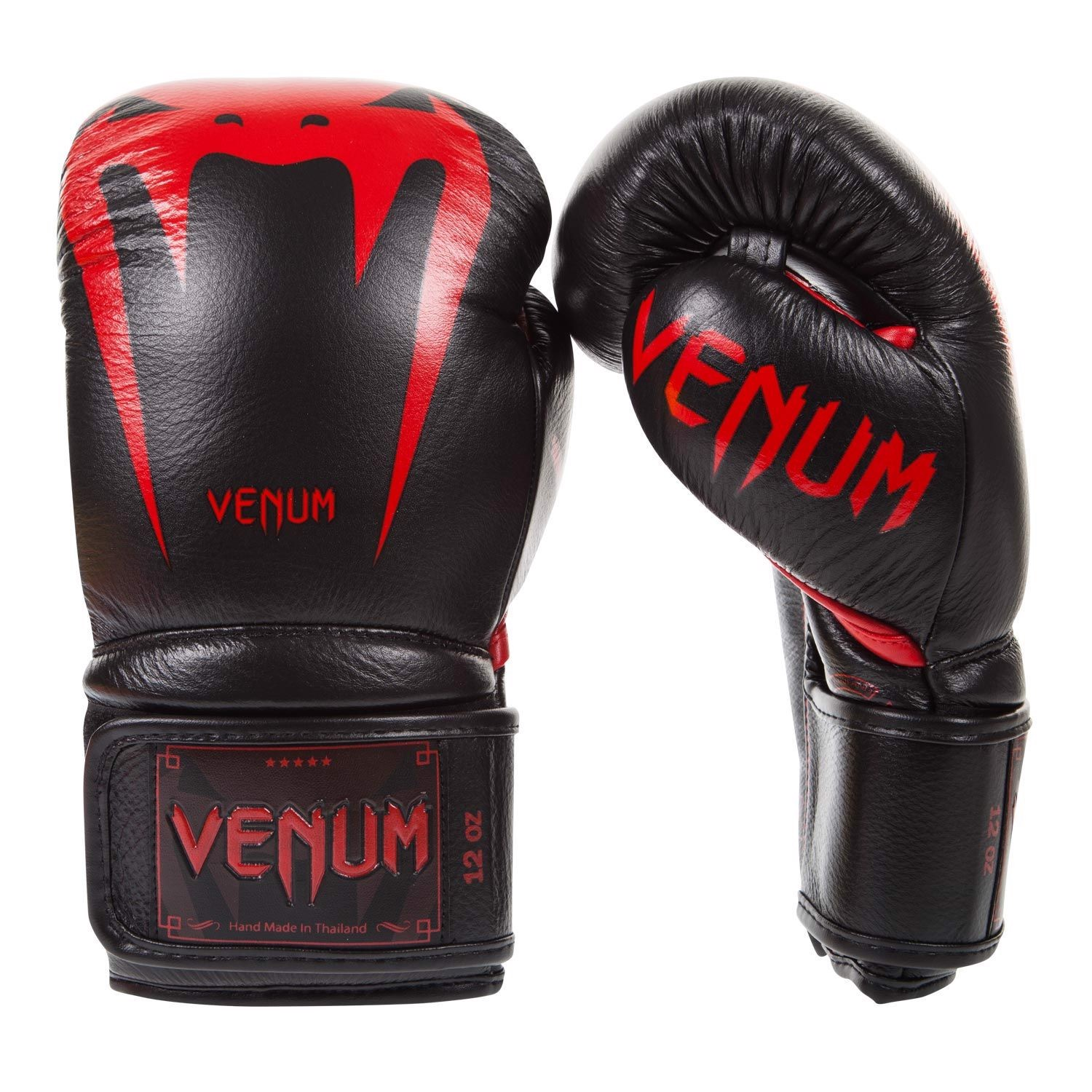 Găng tay boxing VENUM GIANT 3.0 Leather Sparring Boxing Gloves - RED