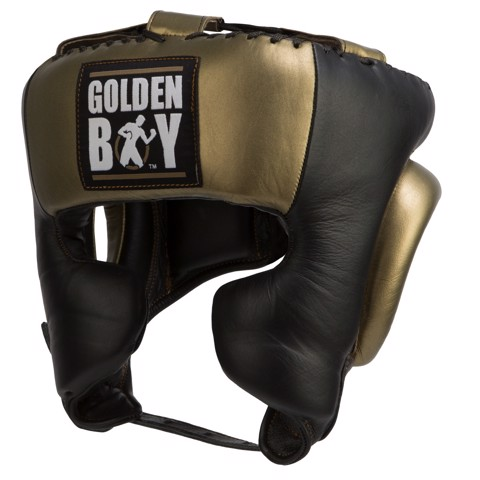 Nón boxing Title Golden Boy Training Headgear