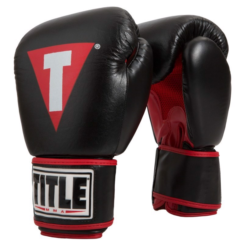 Găng tay boxing Title MMA Performance Thai Style training gloves