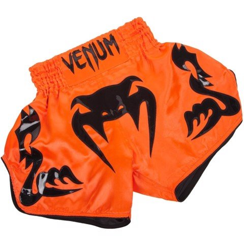Quần Venum Bankok Inferno Muay Thai Shorts 2040 - Neo Orange