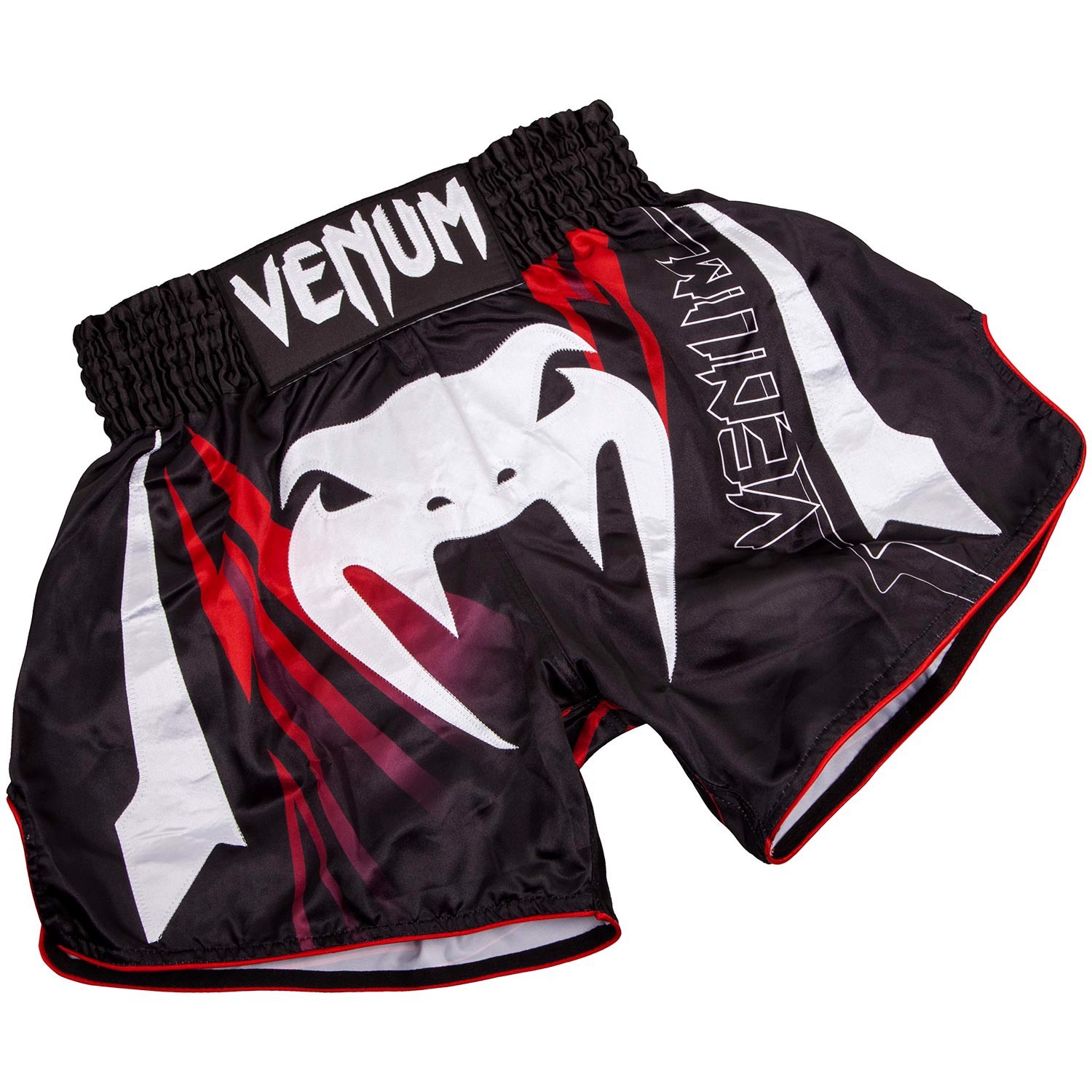 Quần Venum SHARP 3.0 Muay Thai Shorts - Black/Red 02990