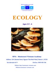 Ecology - AGES 2.5 - 6