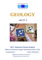 GEOLOGY - AGES 2.5 - 6