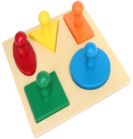 NEW 5 shape peg board